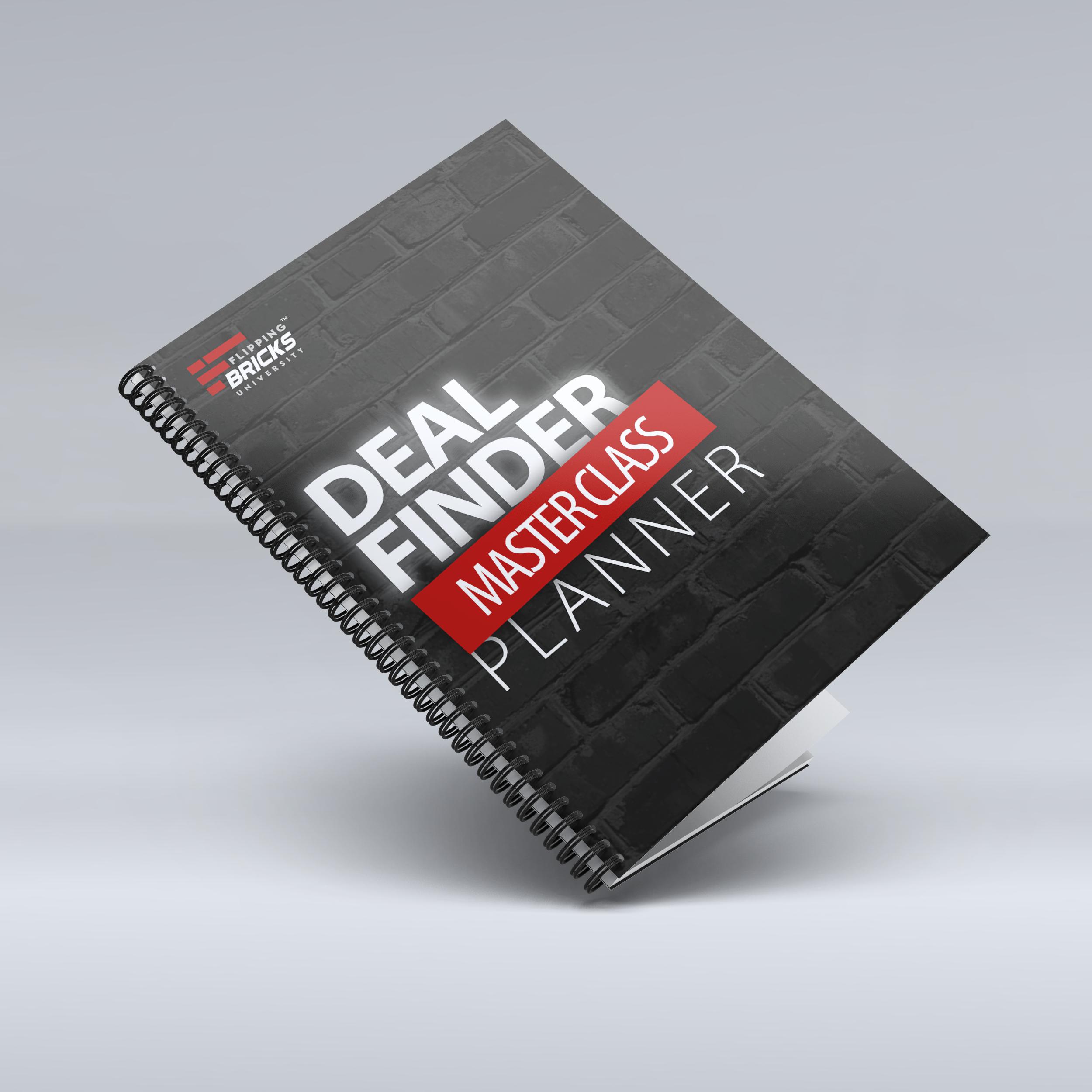 Deal Finder Planner mockup